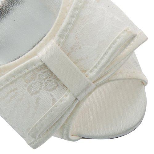 Footwear Sensation - punta abierta mujer blanco - Ivory