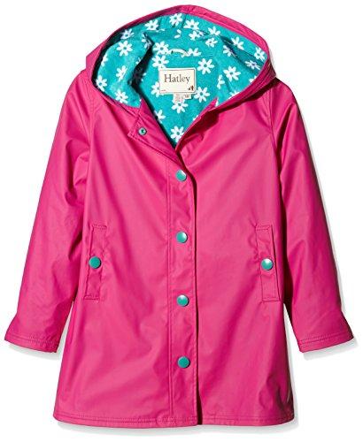 Hatley Fuchsia Daisies Splash Jacket