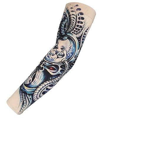 Mzqaxq Tattoo Sleeve Protector Solar Mano Tatuaje Temporal Puños ...
