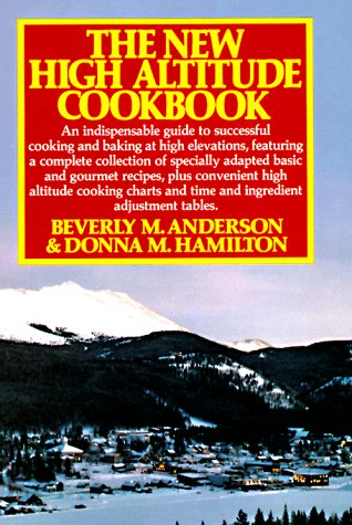 New High Altitude Cookbook