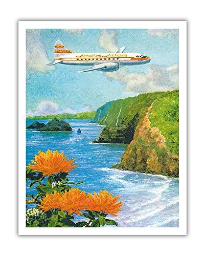 Postcard Vintage Airline - 3
