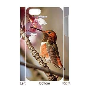 3D Bumper Plastic Case Of Hummingbird customized case For Iphone 4/4s