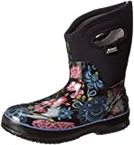 Bogs Women's Classic Winter Blooms Mid Winter Snow Boot