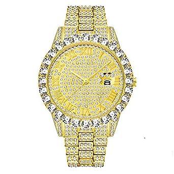 HZBIOK Reloj Mujer Marca Oro para Hombre Relojes De Moda para ...