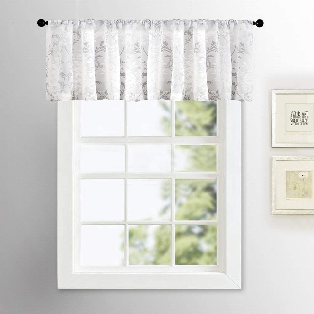 Gray Valances For Bedroom