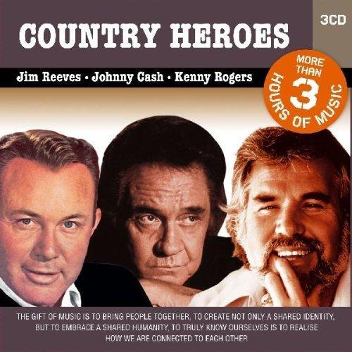 Jim Reeves - Country Heroes/3cd Set - Zortam Music
