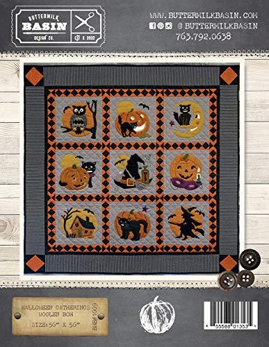Halloween Gatherings Woolen BOM Quilt Pattern - by Buttermilk Basin - Wool Applique Pattern - BMB 1669 50
