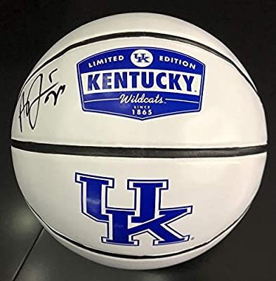 Anthony Davis Autographed Signed Official Limited Edition Basketball Kentucky Wildcats JSA