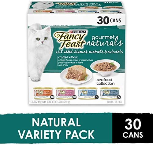 Purina Fancy Feast Classic Collection Adult Wet Cat Food Variety Pack - (30) 3 oz. Cans 2
