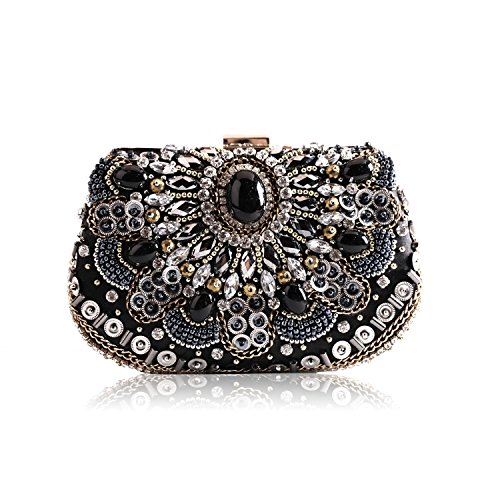HMaking Evening Clutch Bags 2017 New Design Gift Womens Crystal Rhinestone bag from HMaking