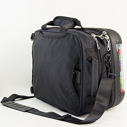 HAUPTSTADTKOFFER - STYLE Laptoptasche Businesstasche Notebooktasche, individuell gestalten, Geschenkidee, Design: Leopard Zebrafell