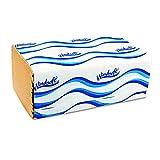 Windsoft 106 Embossed Singlefold Towels, 9-3/10'' x 10-1/2'', Natural, 250 per Pack (Case of 16 Packs)
