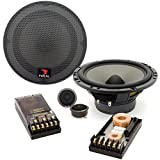 165 V20 - Focal 6.5' 70W RMS Polyglass Series 2-Way Component Speakers System