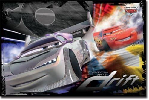Amazon Com Cars Movie Poster Catch My Drift 22 X34 Art Print