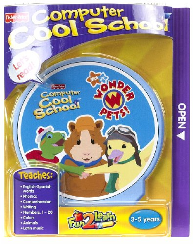 Fisher-Price Fun 2 Learn Computer Cool School Software Wonder Pets by Fisher-Price