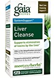 Gaia Herbs Liver Cleanse Liquid Phyto-Capsules, 60 Count