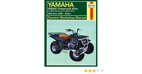 yamaha timberwolf repair manual