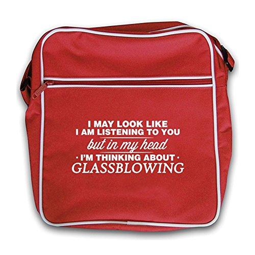 Head Red Bag I'm Glassblowing My Retro In Flight U7wZqO5