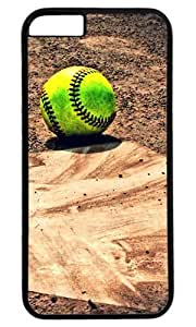 The Yellow Softball So Lonely DIY Hard Shell Black Best Fashion iphone 6 plus Case