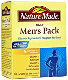 vitamin packs for men - Nature Made Daily Men's Pack Vitamin Supplement Program 30 Each (Pack of 3)