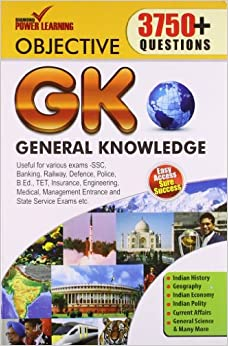 Objective General Knowledge : 3750+ Questions (PB)