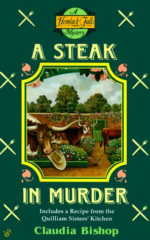 book cover of A Steak in Murder