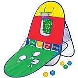 Playhut 3 In 1 Kids Sports Center - Twist 'N Fold Basketball Baseball And Skee Toss