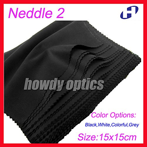 Tool Parts 175gsm Colorful Grey White Black glasses cleaning cloth,15x15cm,lens microfiber cleaning cloth,