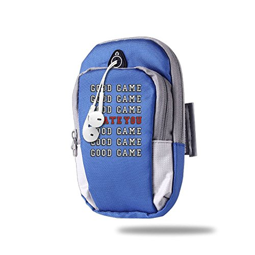 Good Game I Hate You Outdoor Sports Armband Cell Phone Bag Arm Package Bag