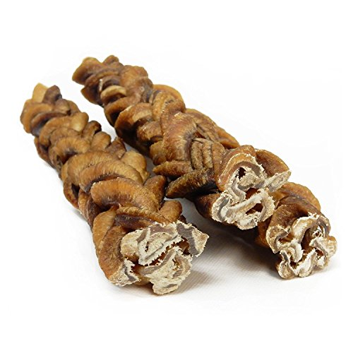 monster braided bully stick for dogs 10 pack 8 pieces per import it all. Black Bedroom Furniture Sets. Home Design Ideas