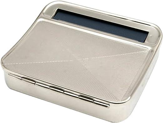 Shot--In - Máquina de liar cigarrillos de metal de 70 mm, caja de liar tabaco: Amazon.es: Hogar