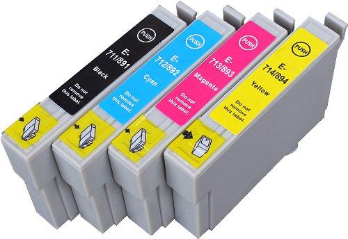 47 opinioni per Multipack Alta Capacità Epson T0715 , T0895 4 Cartucce Compatibles 1 nero, 1