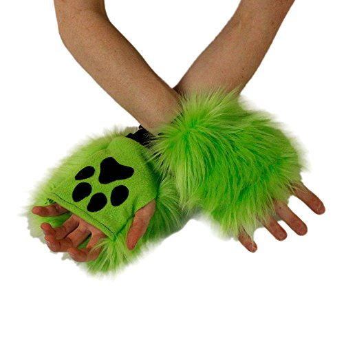 Pawstar Color Theme Pawlets Fingerless Glove Paws Furry