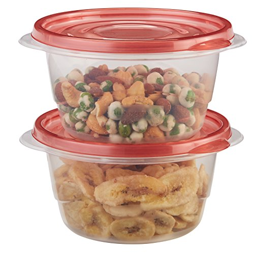 Rubbermaid TakeAlongs Small Bowl Food Storage Containers, 3.