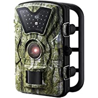 VicTsing Trail Camera, Game and Hunting Wildlife Camera with 24 Black LEDs, 2.4 Inch LCD Screen, IP66 Waterproof, Great for Wildlife Monitoring, Surveillance, Home Security etc