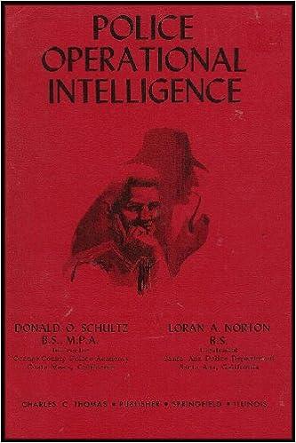 Police Operational Intelligence (Exploring the Historical ...
