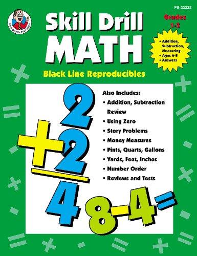 Read Online Skill Drill Math: Addition, Subtraction, Measuring, Grade 2 pdf epub