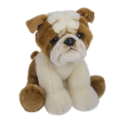Ganz Heritage Coll. Baby Boy Girl Plush Stuffed Animal Toy Dog - Bulldog: Office Products