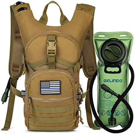 Gelindo Military Tactical Hydration Backpack product image