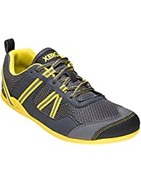 Prio - Minimalist Barefoot Trail and Road Running Shoe - Fitness, Athletic Zero Drop Sneaker - Men's