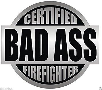 Firefighter Angel -> HIGHLY REFLECTIVE <- Durable Fire Helmet Sticker -  Decal (window