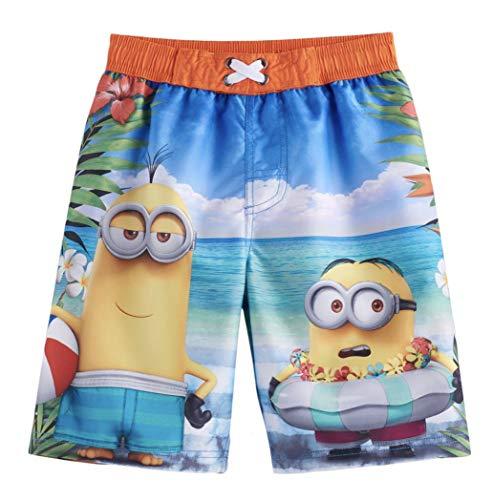 Despicable Me Boys Minions UPF 50 Swim Trunks (Orange Multi, 4) -