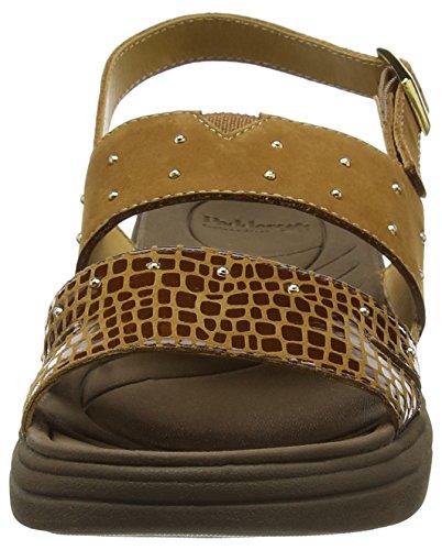 Padders Cameo - Sandalias de tobillo Mujer Brown (Tan Combi)