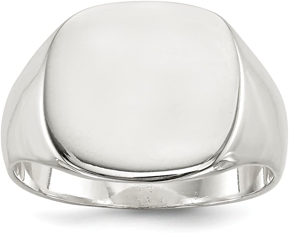 .925 Sterling Silver Signet Ring