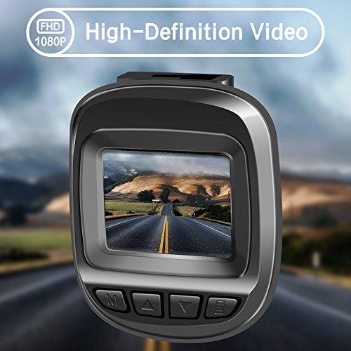 Actionpie Dash Cam 1080P Car DVR Dashboard Camera Full HD Recorder, G-sensor, WDR, Loop Recording, (BLACK) by Actionpie (Image #2)