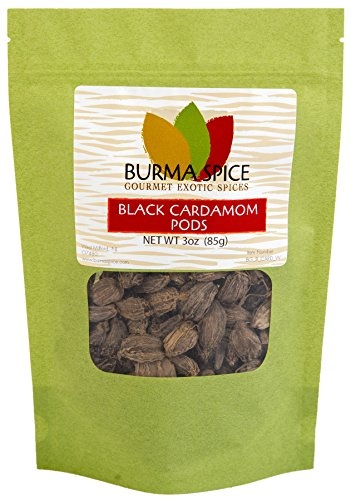 (Black Cardamom Pods | Smokey, Dried, Indian Seasoning Spice | 100% Pure |  (3 oz.))