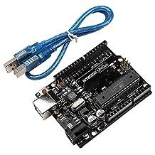 Smraza UNO R3 Board ATmega328P ATMEGA16U2 with USB Cable for Arduino