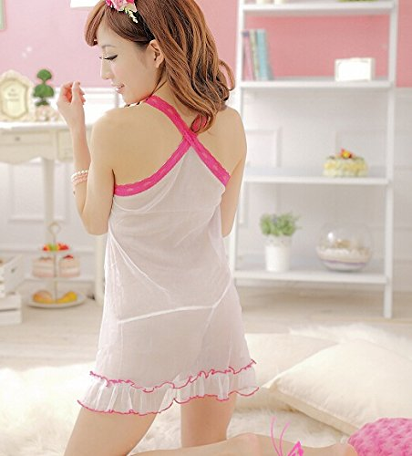 My Sky Women's Sexy Intimate Lingerie Nightwear With Drip-Drop Front