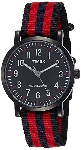 Timex-Unisex-Weekender-Analog-Nylon-Slip-Thru-Strap-Watch-TWEG15401