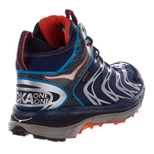 Zapatos Tor Speed 2 Mid WP – hombre Medieval Blue / Red Orange